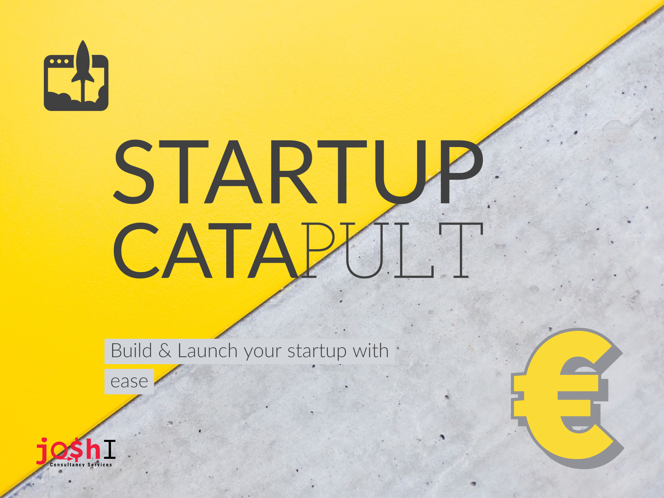 Startup Catapult Partnership Program | Joshi Consultancy Services